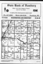 Washington Lake T114N-R26W, Sibley County 1989